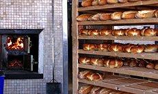 Bäckerei, Backofen, Brot