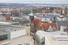 Architektur, Chemnitz, Innenstadt