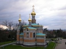Kirche, Russisch-orthodox, Zwiebeltrmchen