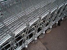 Einkaufswagen, Supermarkt, Einkaufen