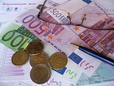 Geld, Euro, Brille, Recht