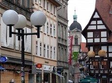 G�ttingen, Altstadt, Fachwerk