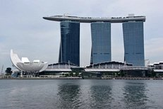 Hotels, Marina Bay Sands, Singapur, Gastronomie
