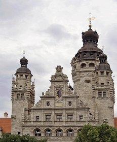 Rathaus, Rathaus Leipzig, Architektur