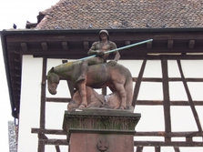 Altstadt, Neustadt Weinstrasse, Figur, Denkmal