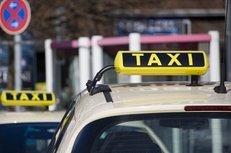 Taxi, Taxischild, Verkehr