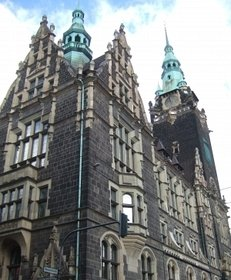 Rathaus, Architektur, Fassade