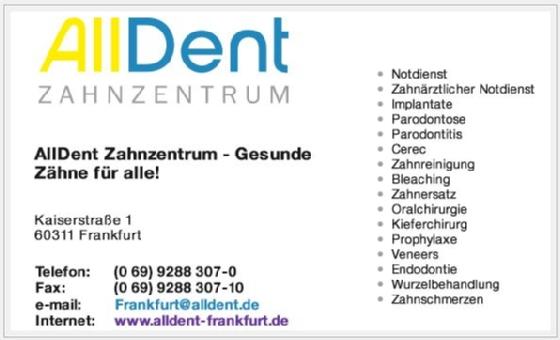 AllDent Zahnzentrum Frankfurt GmbH