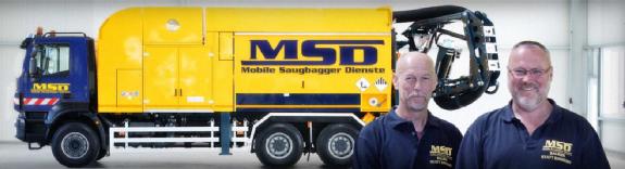 MSD Mobile Saugbagger Dienste