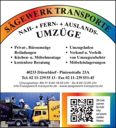 Sägewerk Düsseldorf transporte gmbh