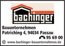 Bauunternehmen Passau bachinger bauunternehmen 94034 passau hacklberg adresse telefon