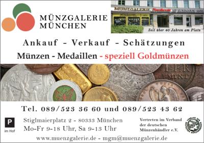 Mgm Münzgalerie München 80333 München Maxvorstadt öffnungszeiten