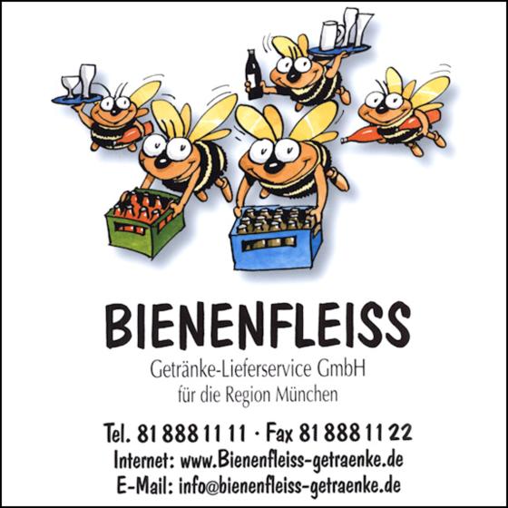 ➤ Bienenfleiss Getränkelieferservice GmbH 80997 München-Moosach ...