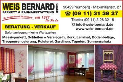 Raumausstattung Nürnberg weis bernard gmbh 90429 nürnberg seeleinsbühl öffnungszeiten