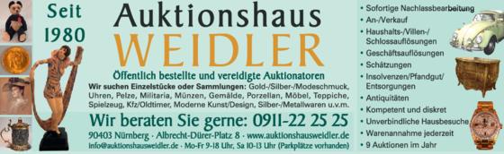 Auktionshaus Weidler 90403 Nürnberg Sebald öffnungszeiten
