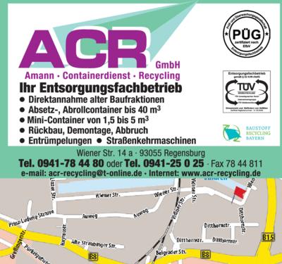 Schrotthandel Regensburg