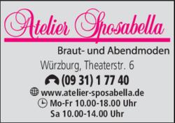 Atelier Sposabella 97070 Wurzburg Altstadt Offnungszeiten