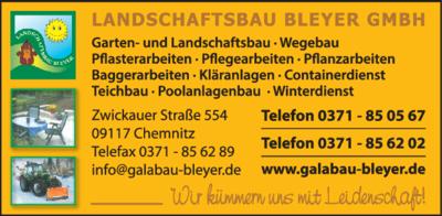 Garten Und Landschaftsbau Chemnitz landschaftsbau bleyer gmbh 09117 chemnitz reichenbrand