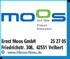 Ernst Moos GmbH in Velbert ⇒ in Das Örtliche
