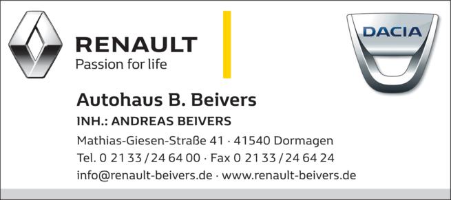 Anzeige Automobile Auto Beivers
