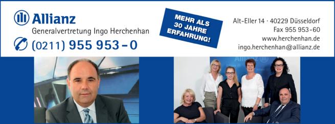 Anzeige Allianz Herchenhan