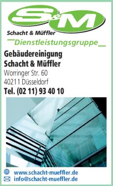Anzeige Gebäudereinigung Schacht & Müffler