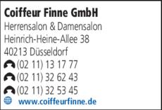 Anzeige Coiffeur Finne GmbH