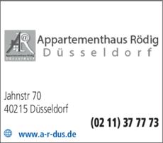 Anzeige Appartementhaus Rödig