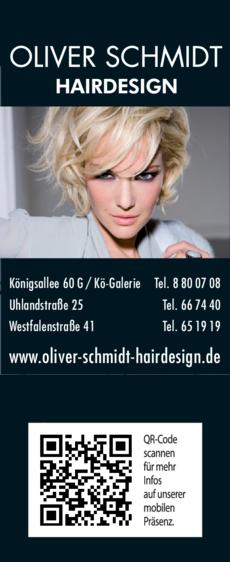 Anzeige Schmidt Oliver Hairdesign