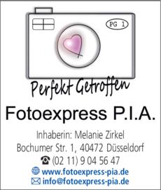Anzeige Fotoexpress P.I.A.