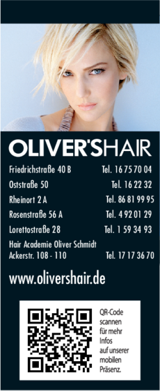 Anzeige Olivers Hair