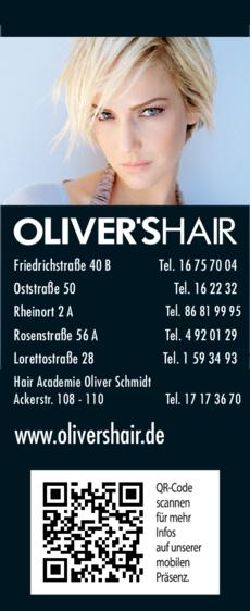 Anzeige Oliver's Hair