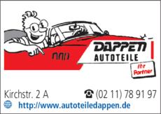 Anzeige Dappen Autoteile