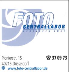 Anzeige Foto Centrallabor Oedekoven GmbH