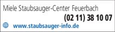 Anzeige Miele Staubsauger Center Feuerbach KG
