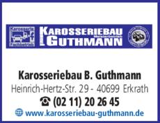 Anzeige KFZ-Werkstatt Bernhard Guthmann Karosseriebau