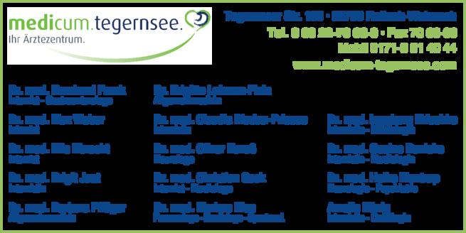 Anzeige Ärztezentrum am Tegernsee/ medicum.tegernsee