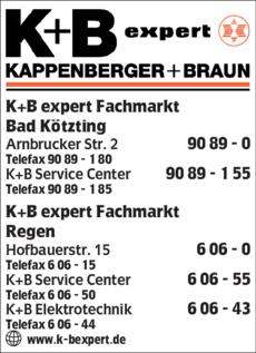 Anzeige K + B expert