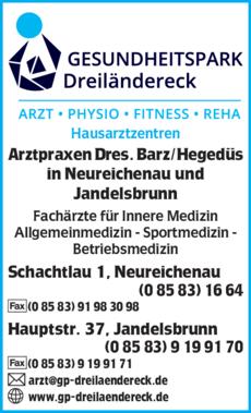 Anzeige Barz Dominik Dr.med.univ.