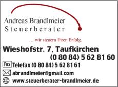 Anzeige Brandlmeier Andreas