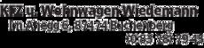 Anzeige KFZ u. Wohnwagen Wiedemann