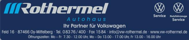 Anzeige Autohaus Rothermel Johann