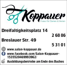 Anzeige Friseur Koppauer