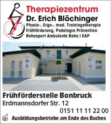 Anzeige Frühförderstelle Bonbruck