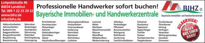 Anzeige BIHZ GmbH