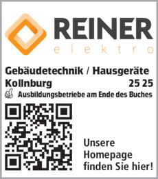 Anzeige Elektro Reiner Gebäudetechnik