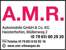 Anzeige A.M.R.