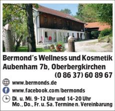 Anzeige Bermonds Wellness und Kosmetik