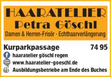 Anzeige HAARATELIER Göschl Petra