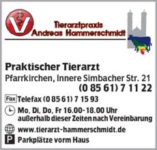 Anzeige Tierarzt Hammerschmidt Andreas